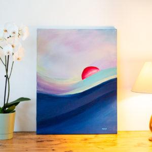 Tableau peinture acrylique - Bretagne, Finistère